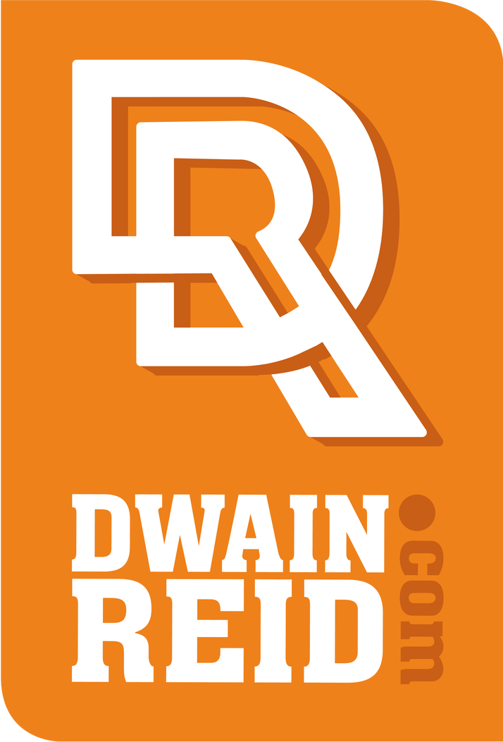 reid name. dwain reid logo name
